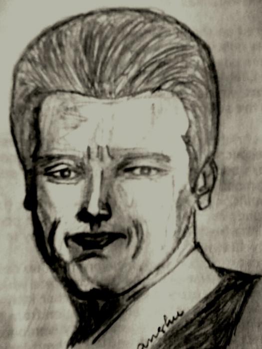 Arnold Schwarzenegger by AvinashJhaAnshu